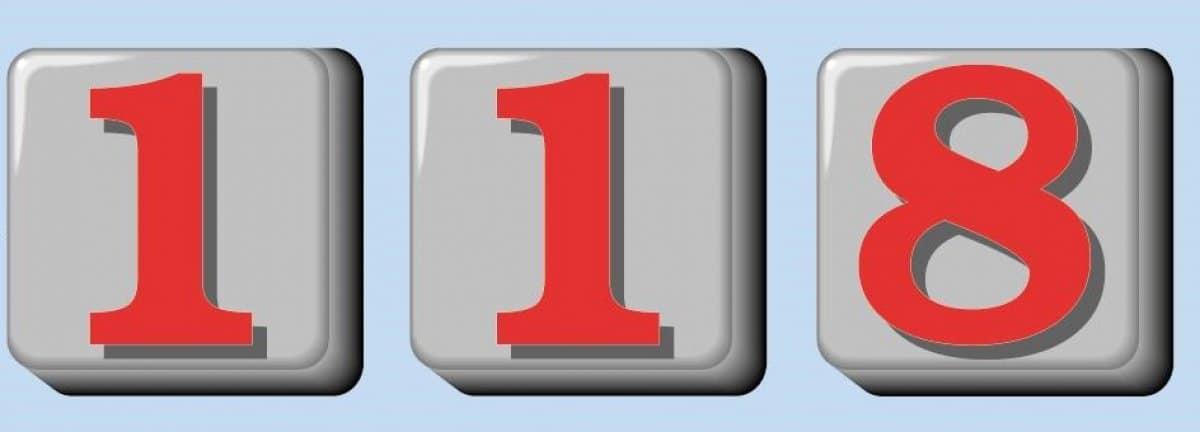 La scheda del 118
