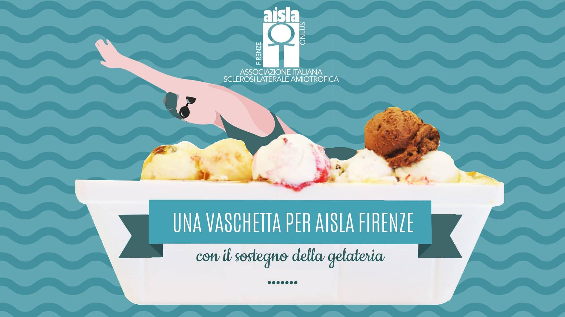 Una vaschetta per AISLA Firenze