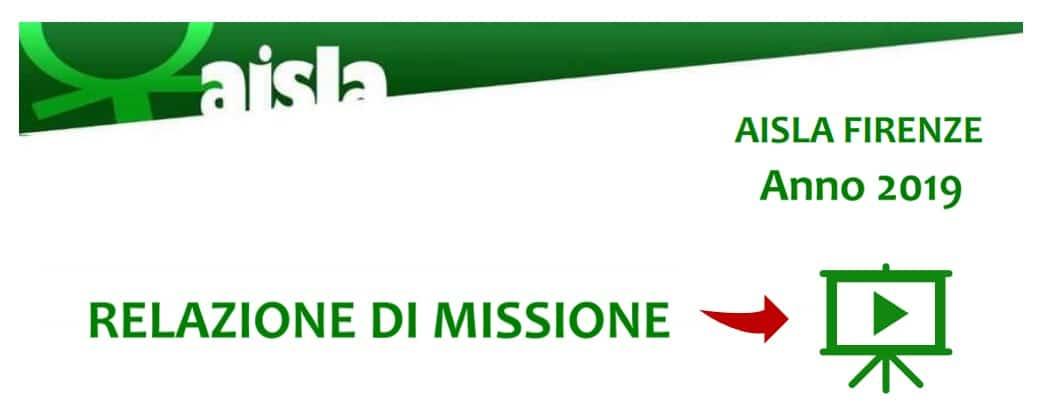 Relazione di Missione 2019 HomePage